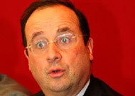 Hollande scandalisé
